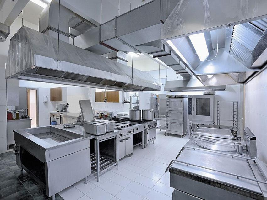 Thiết kế bếp nhà hàng chuyên nghiệp